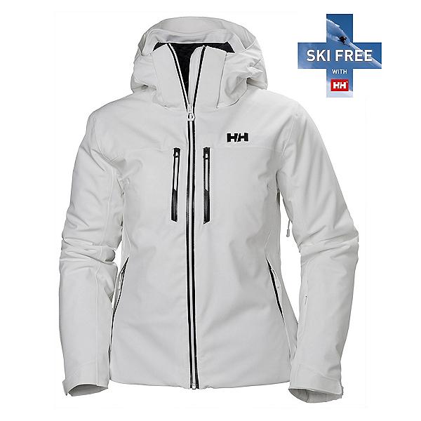 Helly Hansen Alphelia Lifaloft Womens Insulated Ski Jacket, White, 600