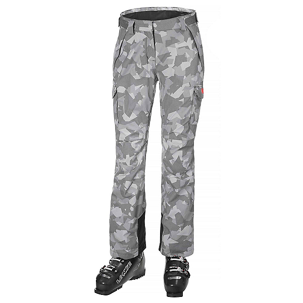 Helly Hansen Switch 2.0 Cargo Womens Ski Pants, Quiet Shade Camo, 600