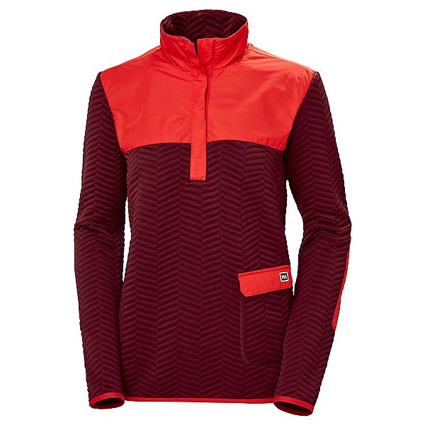 Helly Hansen Lillo Womens Sweater, Oxblood, 600