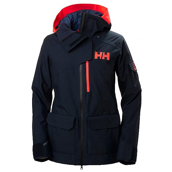 Helly Hansen Powderqueen 2.0 Womens Insulated Ski Jacket, Navy, 600