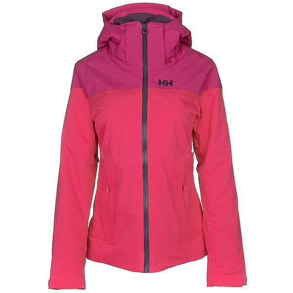 Helly Hansen Motionista Lifaloft Womens Insulated Ski Jacket, Dragon Fruit, 600