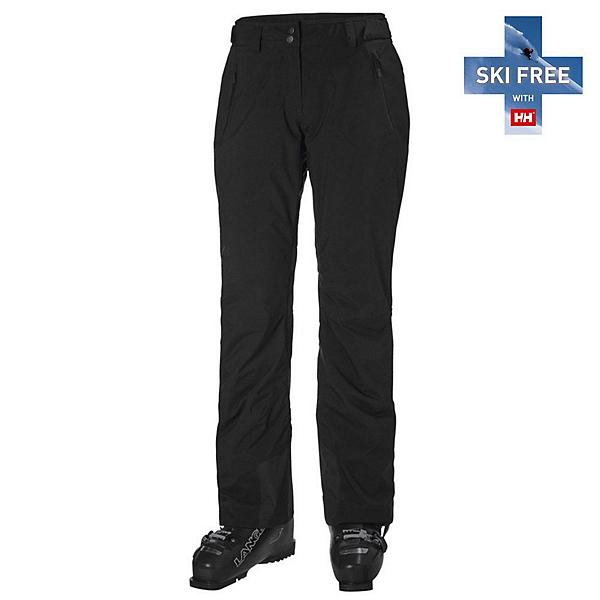 Helly Hansen Legendary Insulated Womens Ski Pants, Black, 600