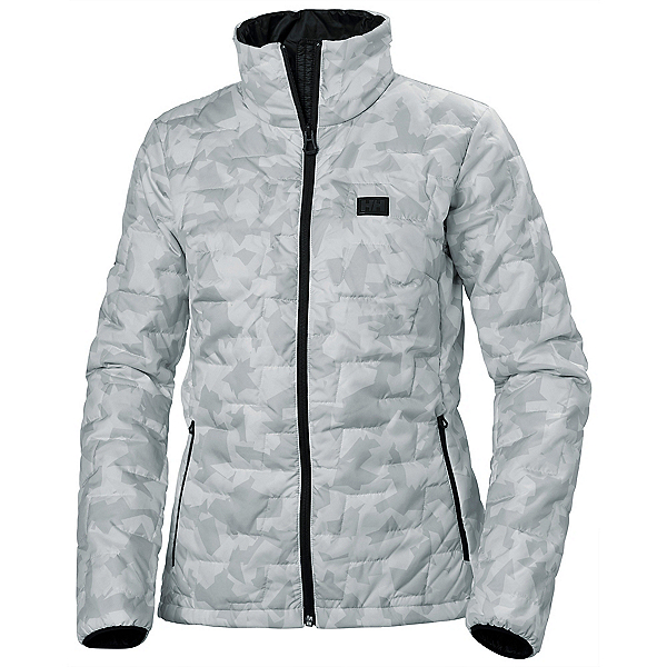 Helly Hansen Lifaloft Insulator Womens Jacket, Grey Fog Camo, 600