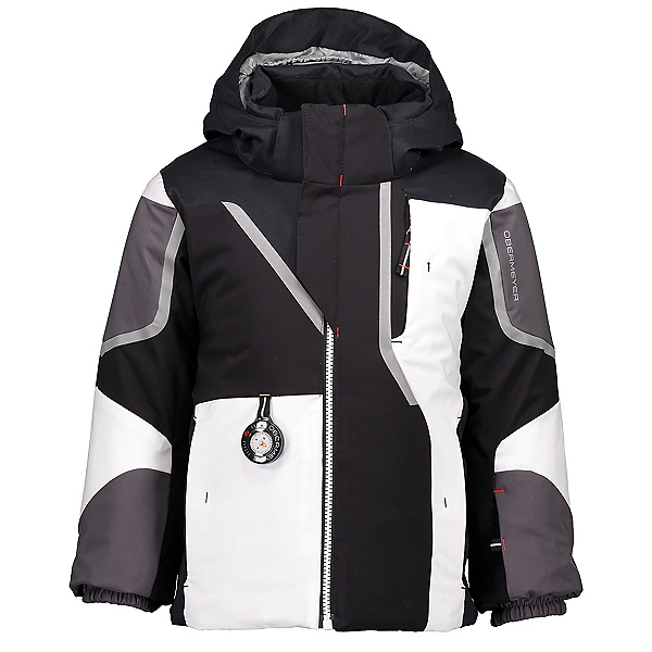 Obermeyer Formation Toddler Ski Jacket, Black, 600