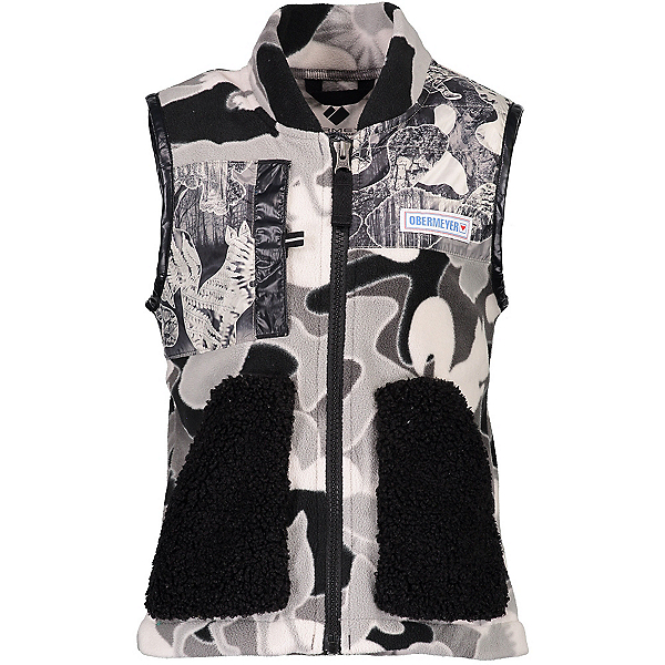 Obermeyer Indy Fleece Kids Vest, Critters Only, 600