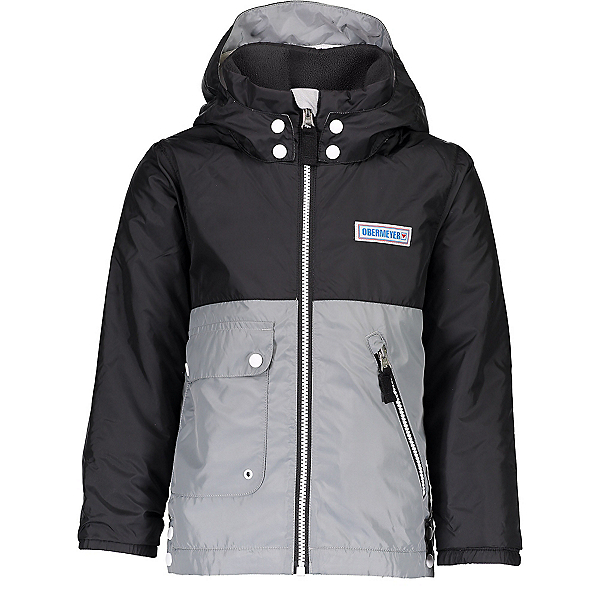 Obermeyer Landon All-Season Toddler Boys Ski Jacket, Black, 600