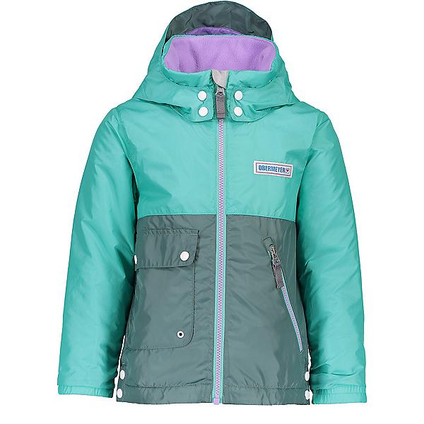 Obermeyer Landon All-Season Toddler Girls Ski Jacket, Out To Sea, 600