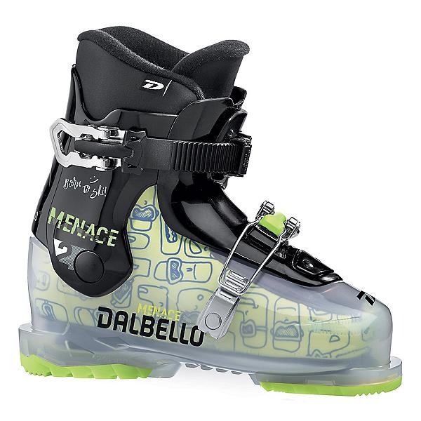 Dalbello Menace 2.0 Kids Ski Boots, Transparent-Black, 600