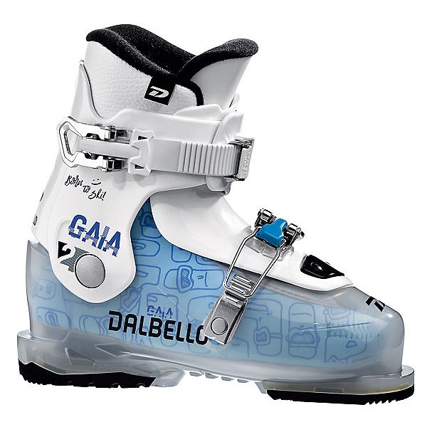 Dalbello Gaia 2.0 Girls Ski Boots, Transparent-White, 600