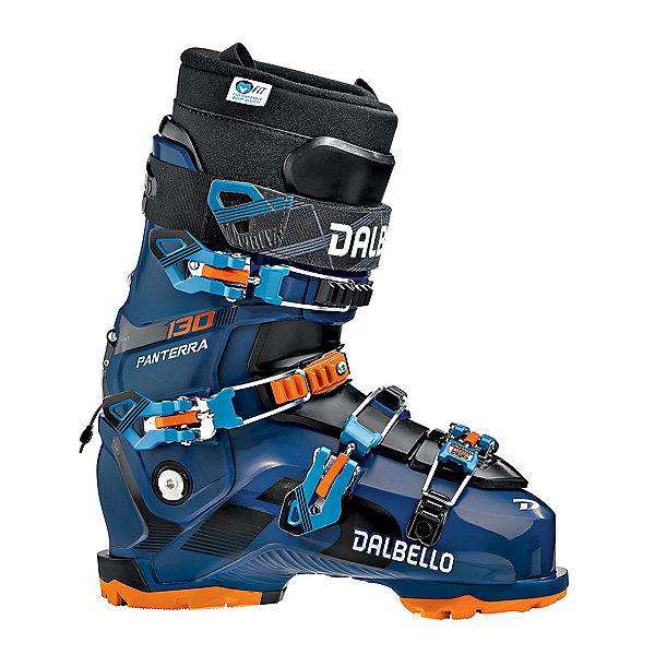 Dalbello Panterra 130 ID GW Ski Boots, Blue-Black, 600