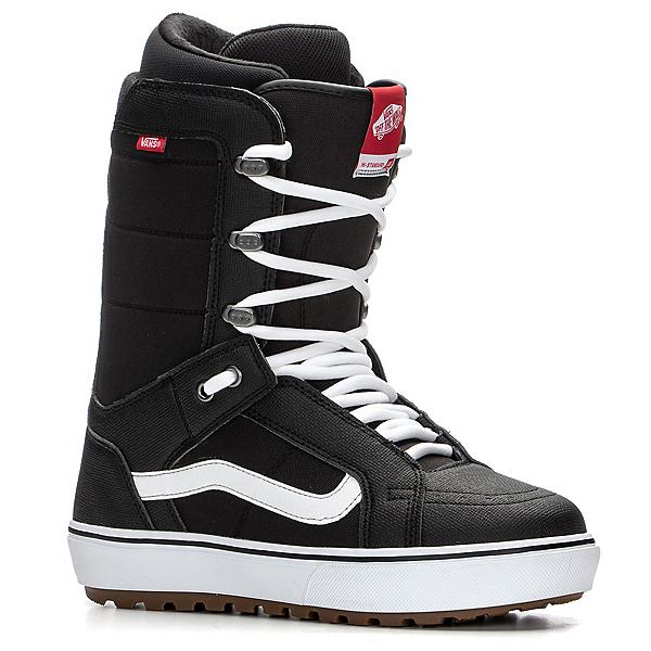 Vans HI-Standard OG Snowboard Boots 2020, Black-White, 600