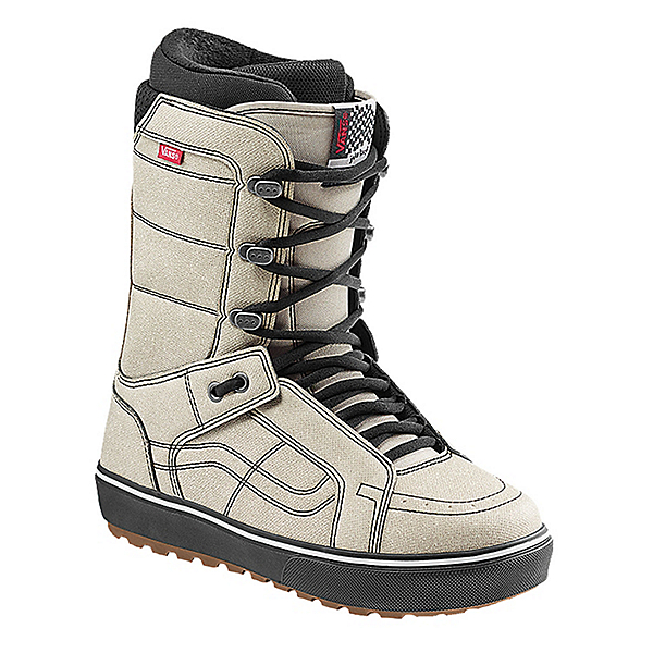 Vans HI-Standard OG Snowboard Boots, Moonbeam-Black, 600