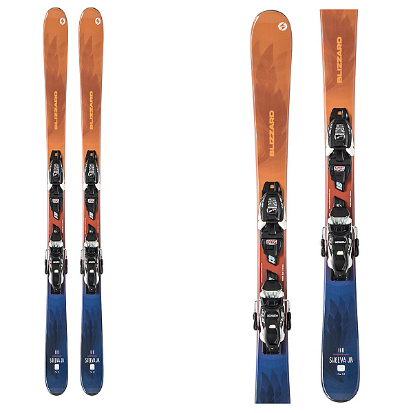 Blizzard Sheeva Twin Kids Skis with FDT Jr 7.0 Bindings 2020, , 600