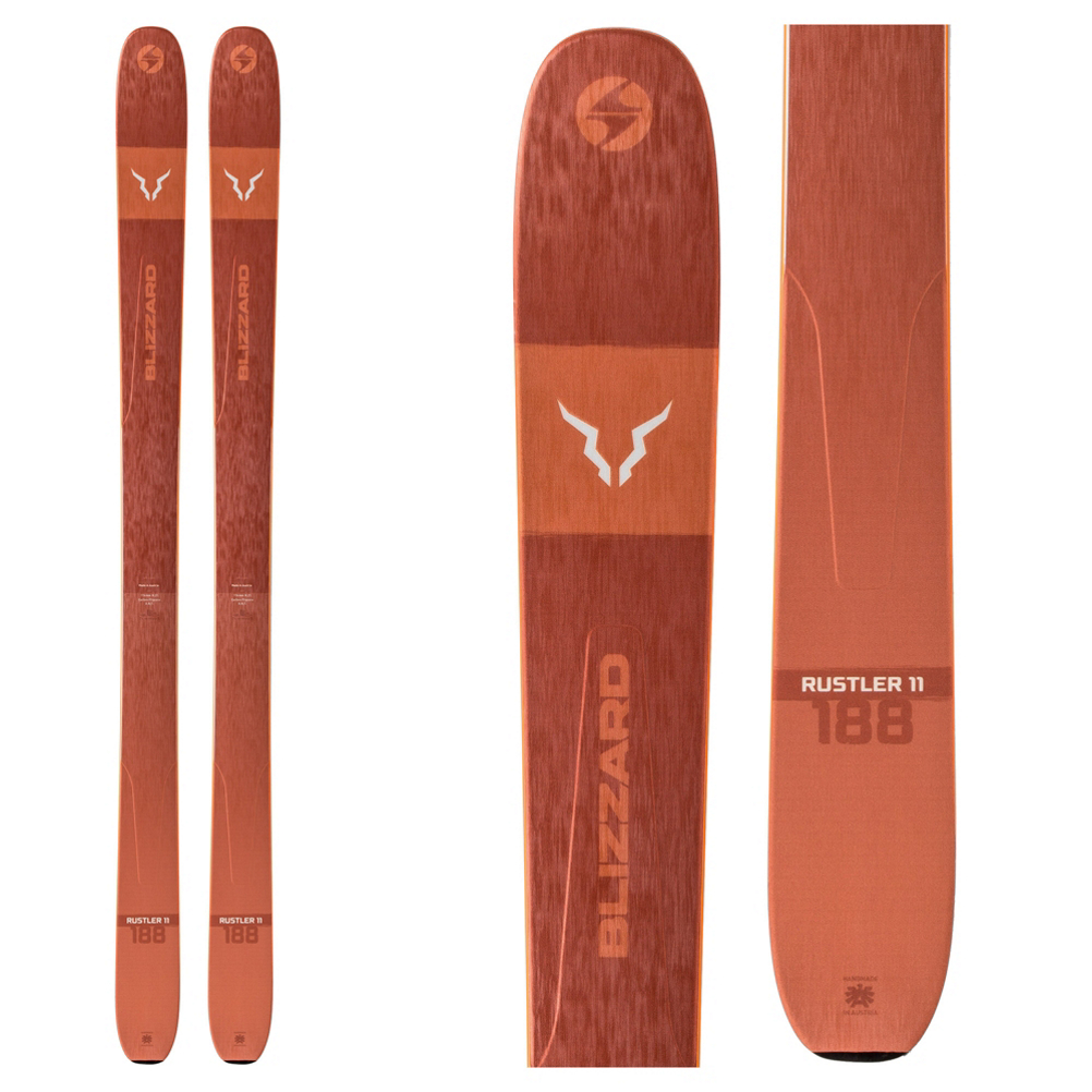 Blizzard Rustler 11 Skis