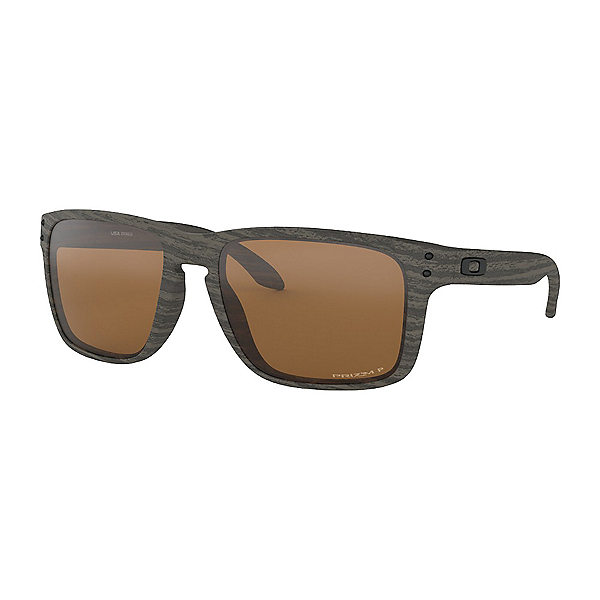 Oakley Holbrook XL PRIZM Polarized Sunglasses, Woodgrain, 600