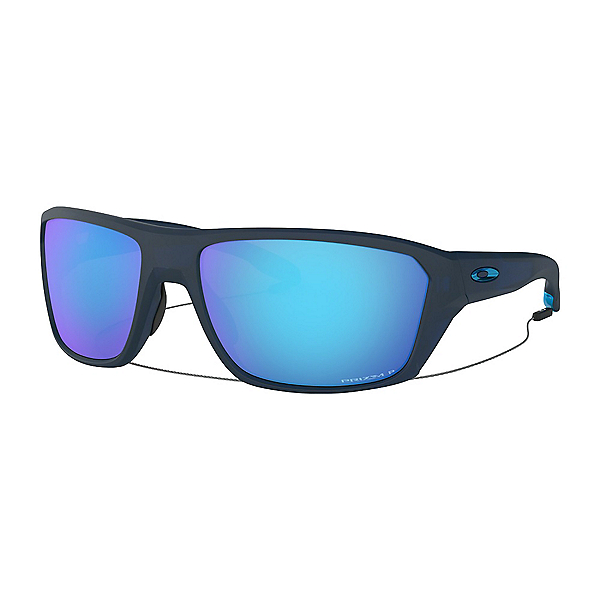 Oakley Split Shot PRIZM Polarized Sunglasses 2019, Matte Translucent Blue, 600