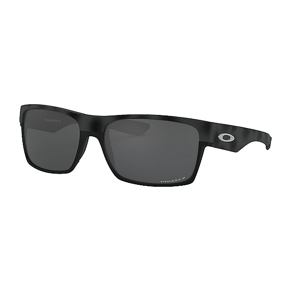 Oakley Two Face Prizm Polarized Sunglasses, Black Camo, 600