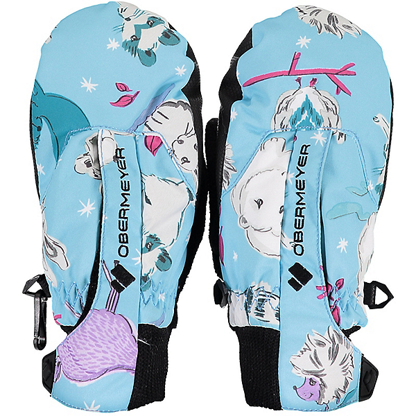 Obermeyer Thumbs Up Print Toddlers Mittens 2020, , 600