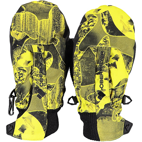 Obermeyer Thumbs Up Print Toddlers Mittens, Night Vision Camo, 600