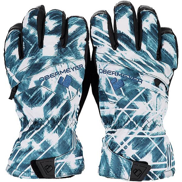 Obermeyer Lava Kids Gloves, Southwest Blues, 600
