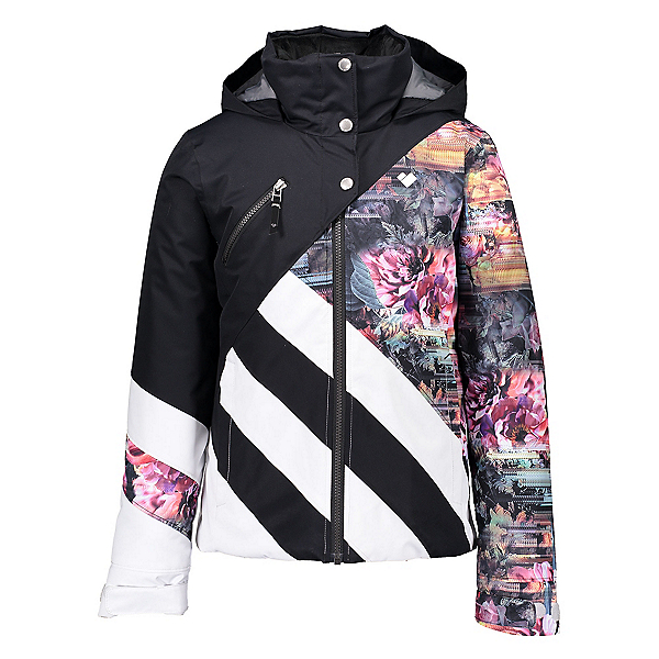 Obermeyer Tabor Girls Ski Jacket, Scattered Floral, 600