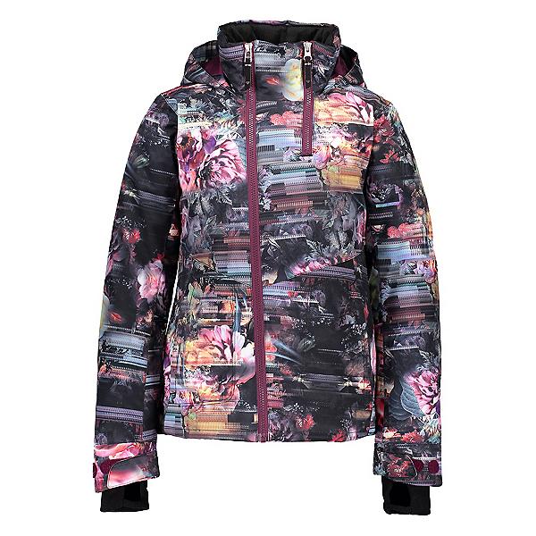 Obermeyer Taja Print Girls Ski Jacket 2020, Scattered Floral, 600