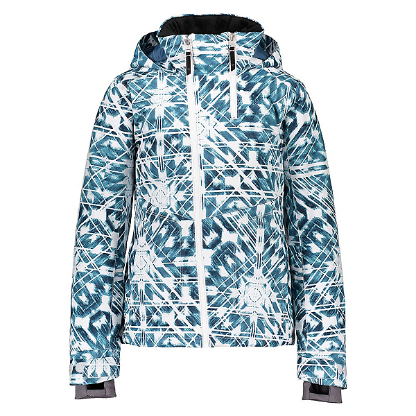 Obermeyer Taja Print Girls Ski Jacket, Southwest Blues, 600