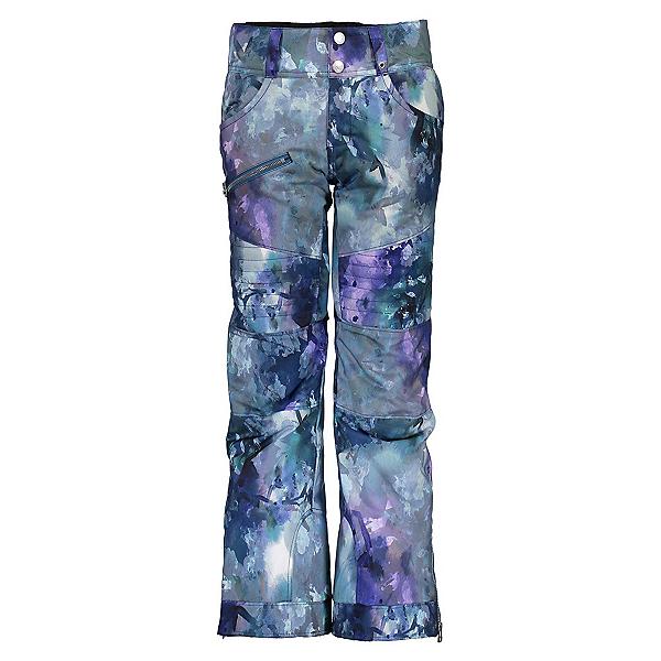 Obermeyer Jessi Girls Ski Pants, Watercolor Floral, 600