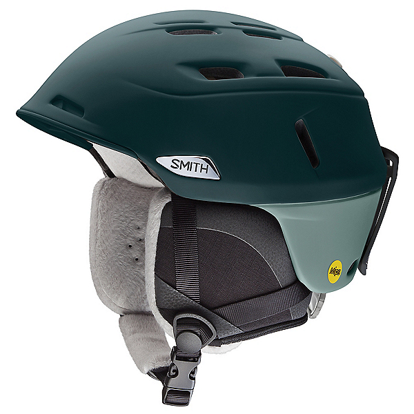 Smith Compass Womens Helmet 2020, Matte Deep Forest-Saltwater, 600