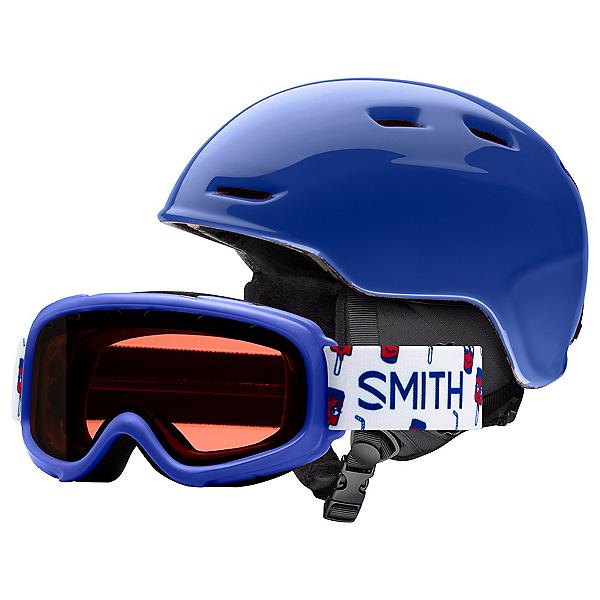 Smith Zoom Jr. and Gambler Combo Kids Helmet 2020, Blue, 600