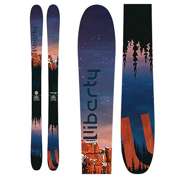 Liberty Skis Genesis 90 Womens Skis 2020, , 600