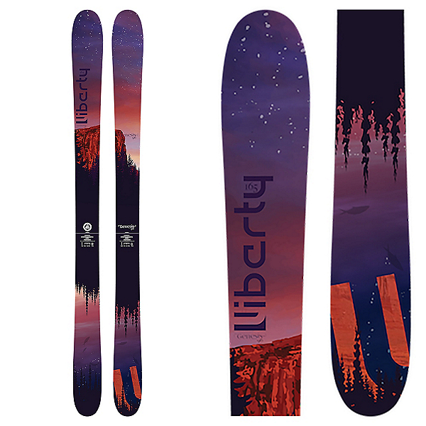 Liberty Skis Genesis 96 Womens Skis, , 600