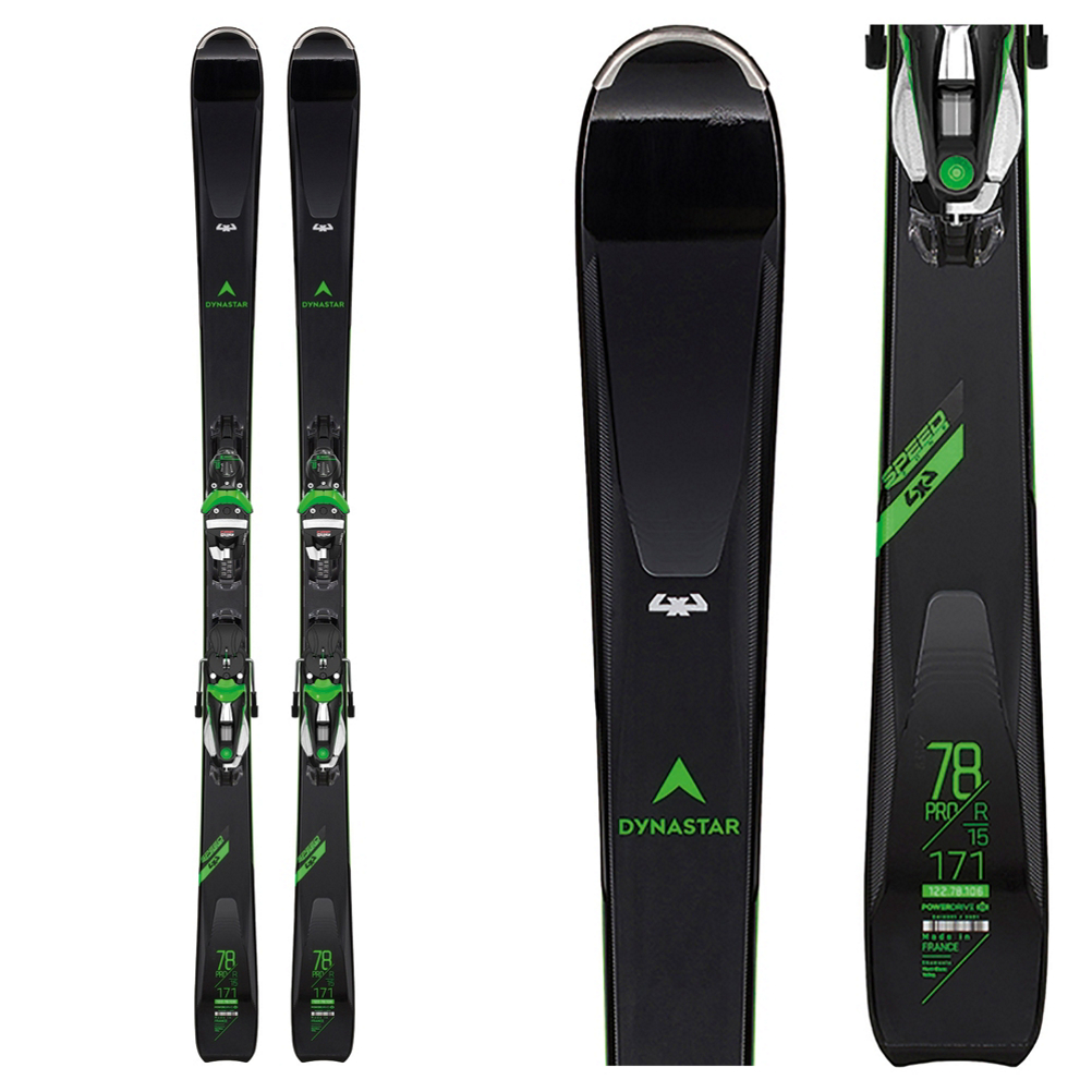 Dynastar Speed Zone 4X4 78 Pro Skis with NX 12 Konect Bindings 2020