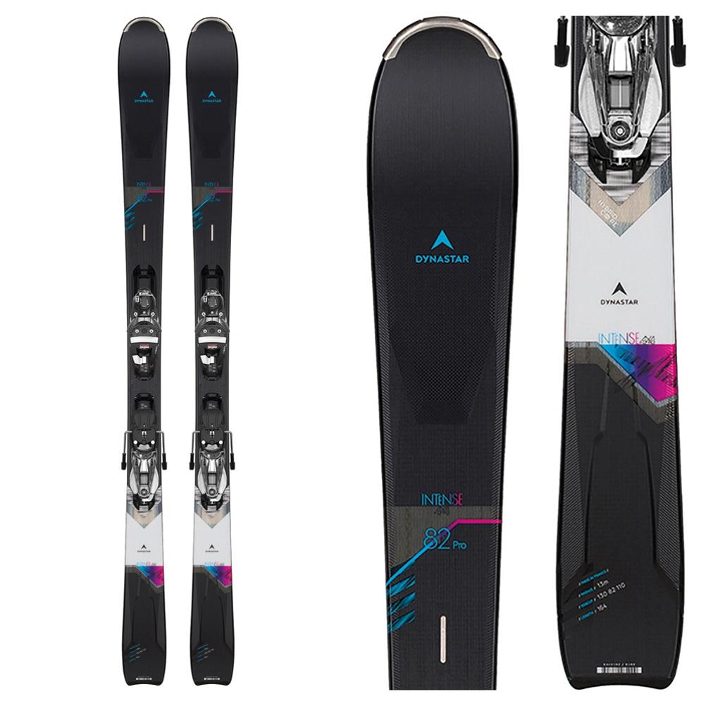 Dynastar Intense 4x4 82 Pro Womens Skis with Bindings 2020