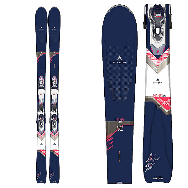 Dynastar Intense 4x4 82 Womens Skis with Xpress W 11 GW B83 Bindings 2021, , 600