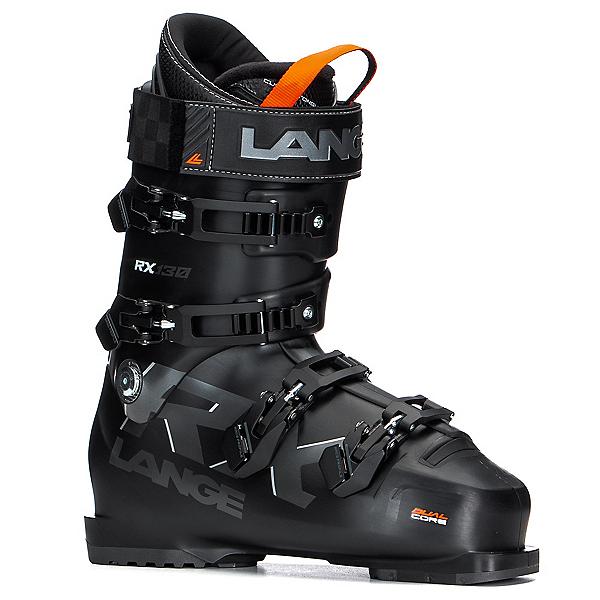 Lange RX 130 Ski Boots, Black Gunmetal, 600
