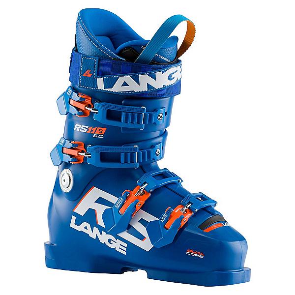 Lange RS 110 SC Race Ski Boots, Power Blue, 600
