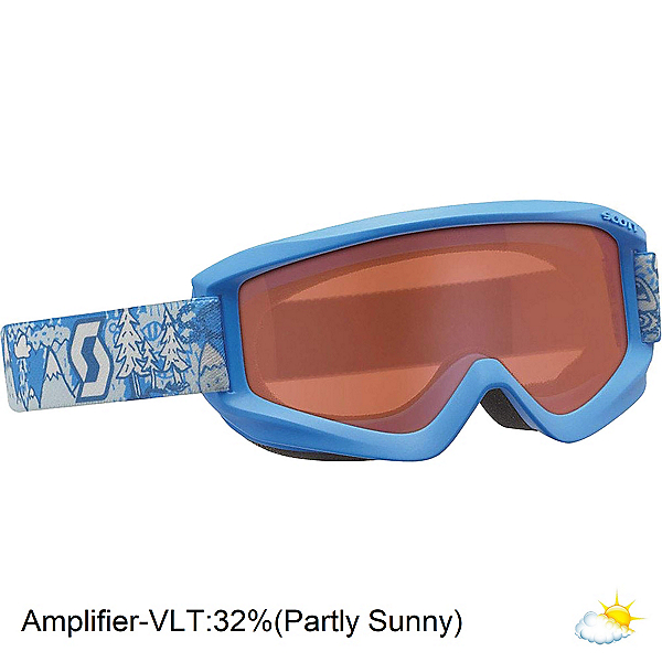 Scott Agent Jr Kids Goggles, Blue-Amplifier, 600