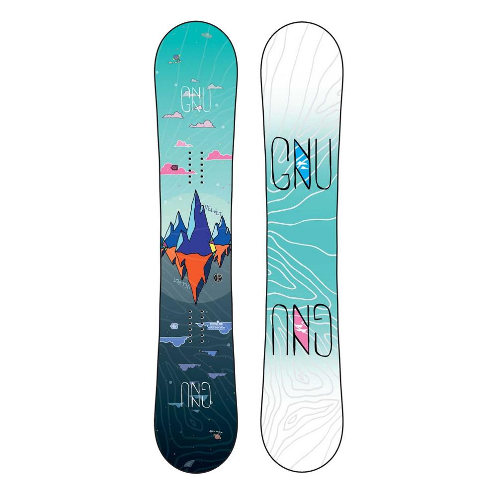 Gnu Velvet Asym C2 Womens Snowboard 2020 im test