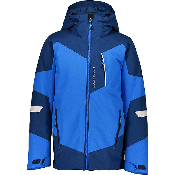 Obermeyer Fleet Boys Ski Jacket, Blue Vibes, 600