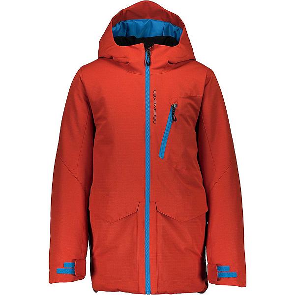Obermeyer Gage Boys Ski Jacket, Iron Oxide, 600