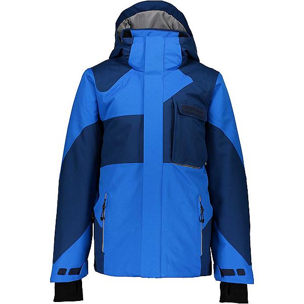 Obermeyer Outland Boys Ski Jacket, Blue Vibes, 600