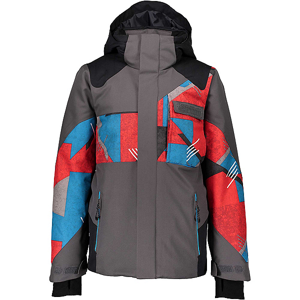 Obermeyer Outland Boys Ski Jacket 2020, Gun Powder, 600