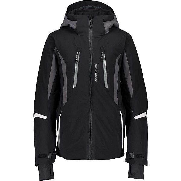 Obermeyer Mach 10 Boys Ski Jacket, Black, 600