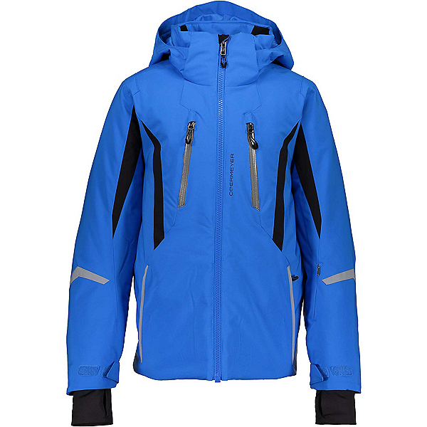 Obermeyer Mach 10 Boys Ski Jacket 2020, Blue Vibes, 600