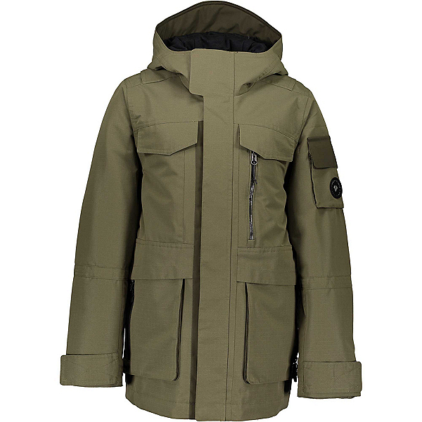 Obermeyer Colt Boys Ski Jacket, Military Time, 600