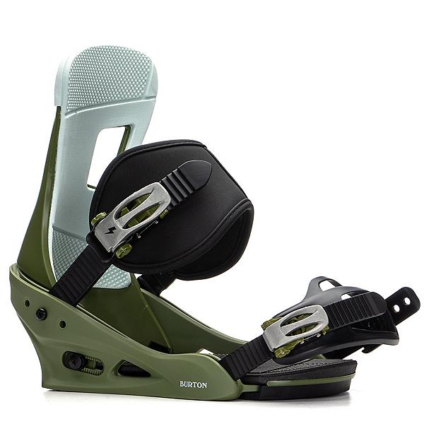 Burton Freestyle Snowboard Bindings 2020, Camp On Green, 600