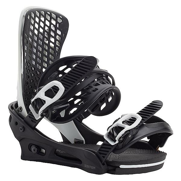 Burton Genesis Re:Flex Snowboard Bindings, Black-Chalk, 600
