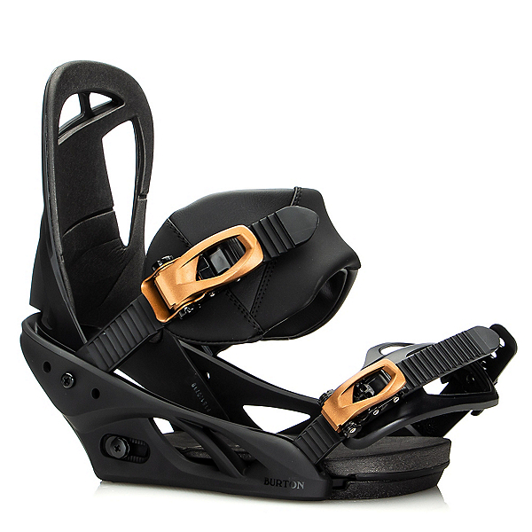 Burton Scribe Womens Snowboard Bindings 2020, Black, 600