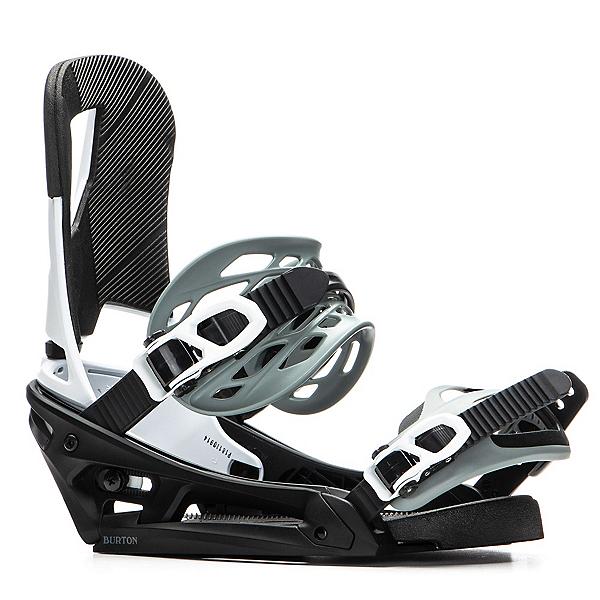Burton Cartel EST Snowboard Bindings 2020, Black-White, 600